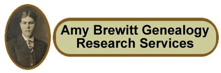 Amy Brewitt Genealogy Research Services, Amy Brewitt